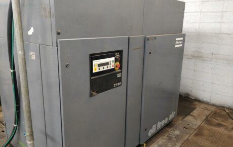 Compressor Atlas Copco ZT90 isento de óleo
